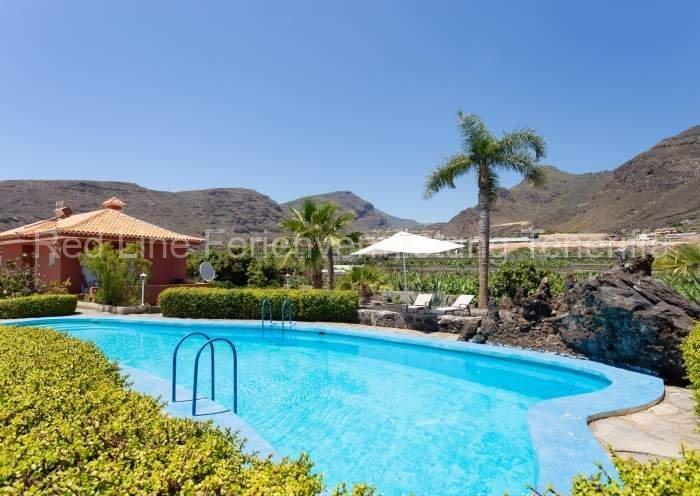 Teneriffa Villa auf Finca mit Pool, großem Garten und Terrasse 010