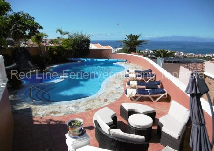Ferien-Villa mit beheizbarem Privatpool in Playa las Americas 042