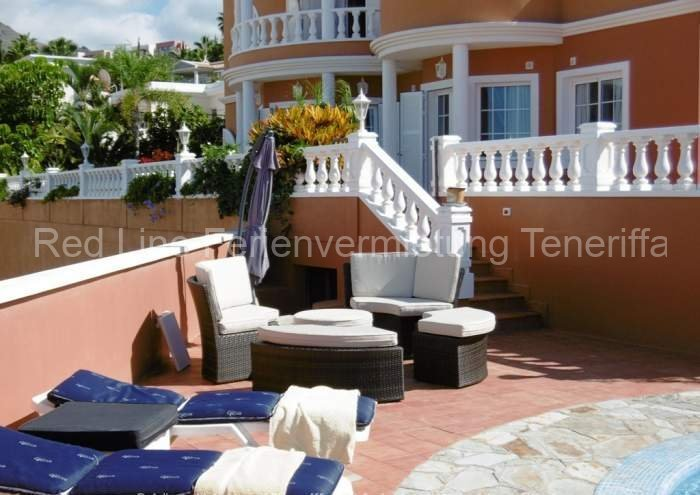 Ferien-Villa mit beheizbarem Privatpool in Playa las Americas 047