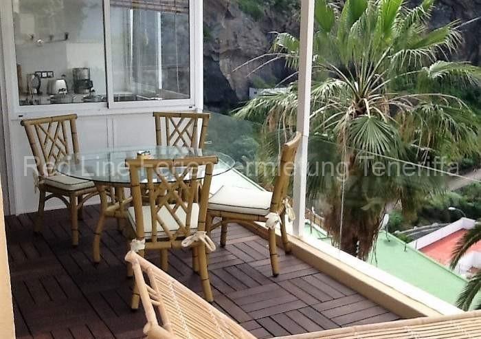 Helle, strandnahe Ferienwohnung mit Terrasse in Icod de los Vinos - 030