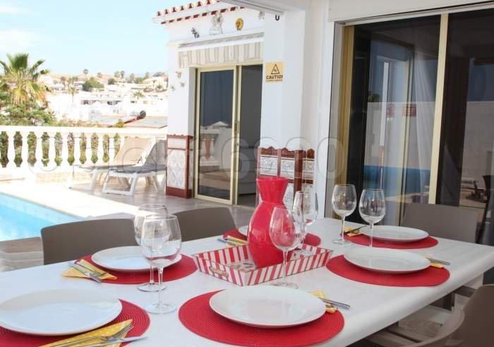 Ruhige Villa mit beheizbarem Pool und Grill in Callao Salvaje - 017