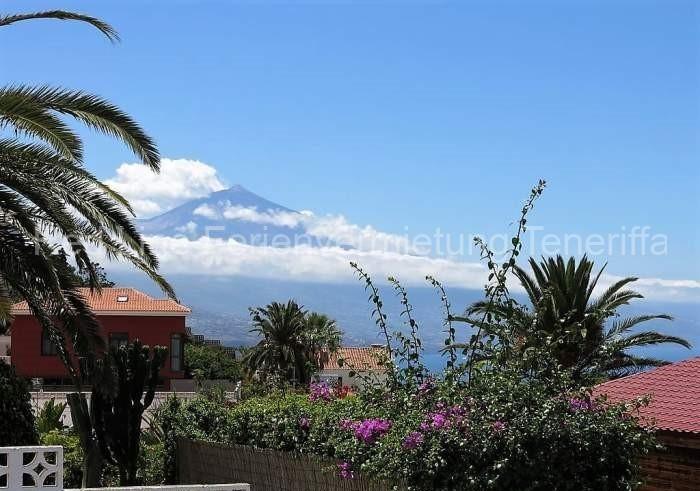 Teneriffa - Ruhiges Ferienhaus mit Meerblick und Teideblick in Mesa del Mar - 01