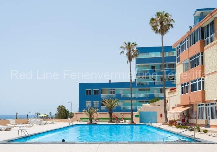 Moderne Ferienwohnung mit Pool direkt am Strand in Candelaria - 01