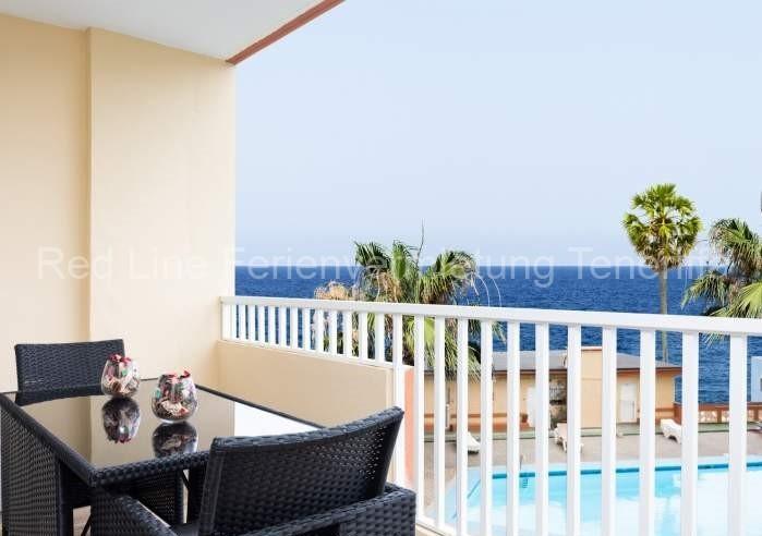 Moderne Ferienwohnung mit Pool direkt am Strand in Candelaria - 017