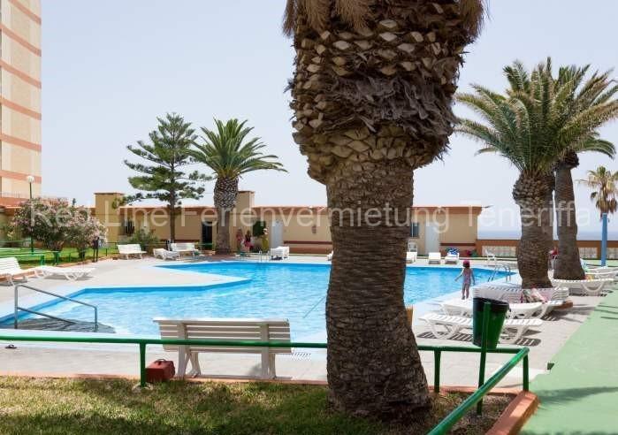 Moderne Ferienwohnung mit Pool direkt am Strand in Candelaria - 019