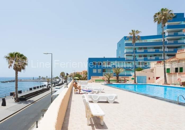 Moderne Ferienwohnung mit Pool direkt am Strand in Candelaria - 021