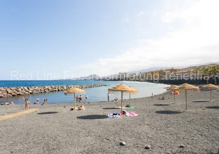 Moderne Ferienwohnung mit Pool direkt am Strand in Candelaria - 030