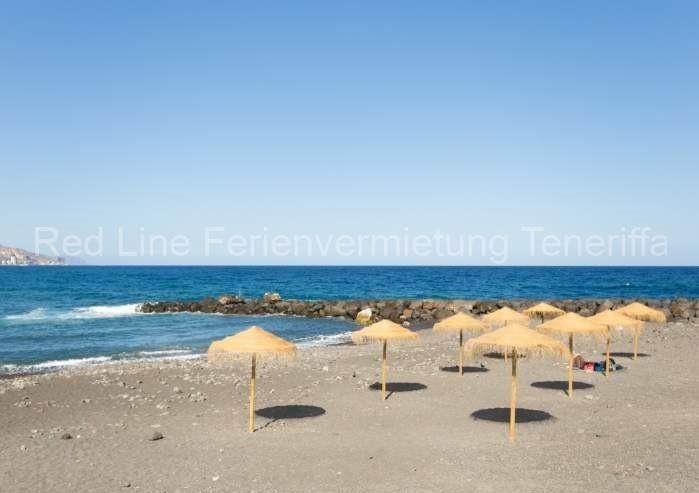 Moderne Ferienwohnung mit Pool direkt am Strand in Candelaria - 031