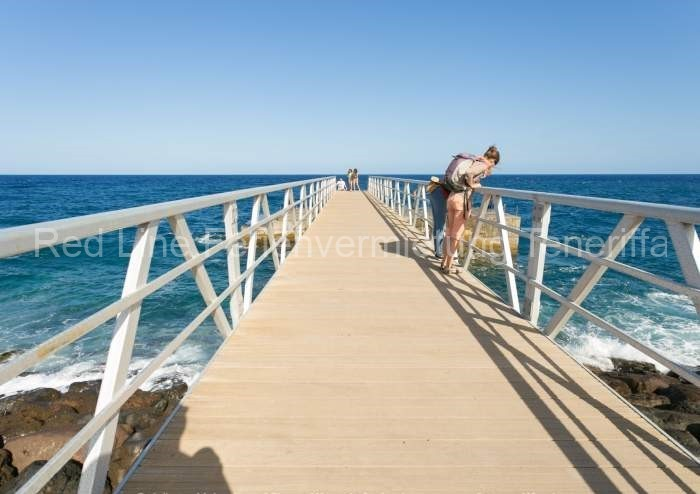 Moderne Ferienwohnung mit Pool direkt am Strand in Candelaria - 032