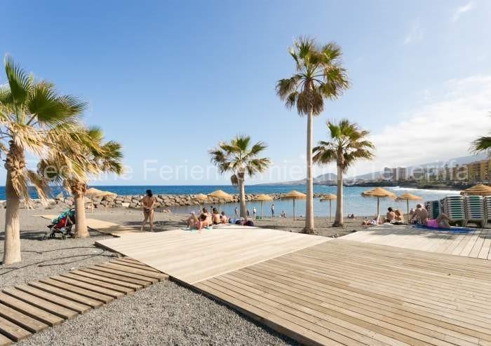 Moderne Ferienwohnung mit Pool direkt am Strand in Candelaria - 033