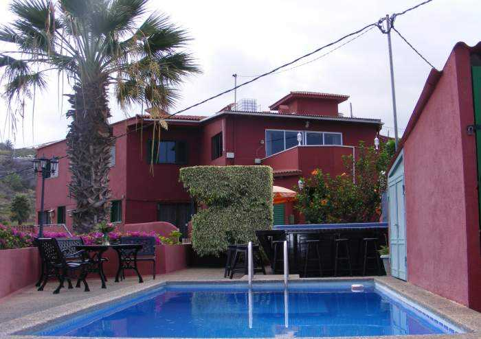 3995 Ferienhaus in rustikalem Stil auf Finca in Buen Paso mit Pool