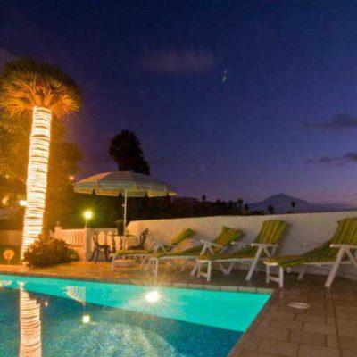 Teneriffa Villa mit Privatpool in ruhiger Meerlage von El Sauzal