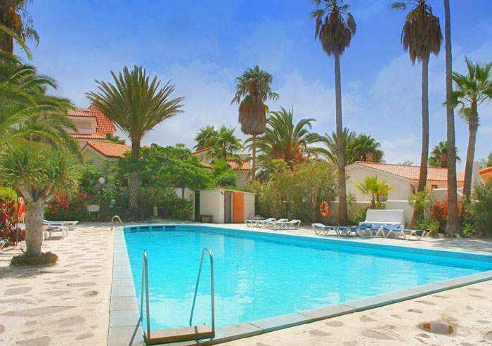 Teneriffa Ferienwohnung in privater Wohnanlage mit Poolbereich im Süden