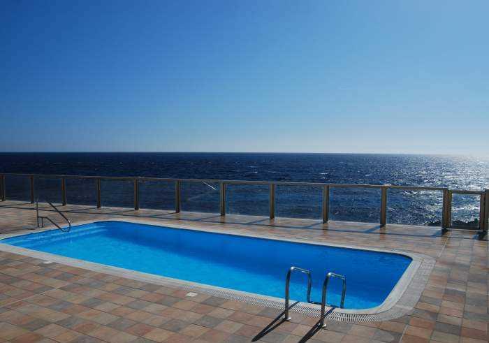 ID 4926 Strandnahe Ferienwohnung in Poris de Abona mit Pool und Traumblick