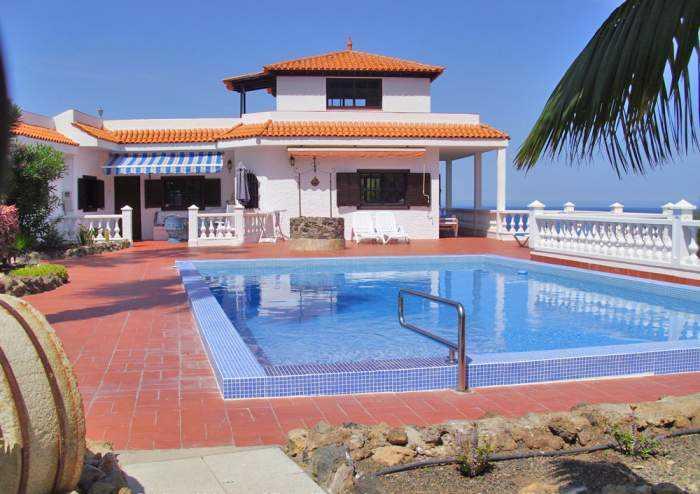 Objekt ID: 5084 Ferienhaus in Traumlage bei Icod de los Vinos mit 3 Schlafzimmer, Pool und Terrasse