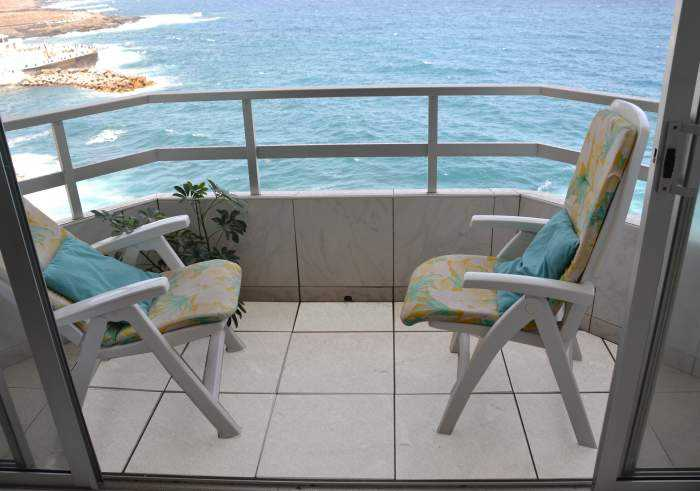 Teneriffa Ferienwohnung am Meer mit Dachterrasse und traumhaften Rundumblick