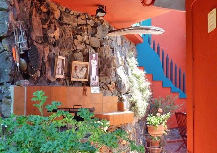 Teneriffa (Überwintern). Ferienwohnung mit Heizung, überdachtem Grill, Privatpool und Traumblick in El Sauzal.