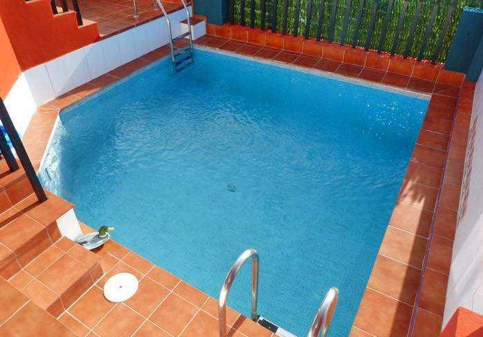 Teneriffa Überwintern. Ferienwohnung mit Pool, Terrasse und traumhaften Blick in El Sauzal.