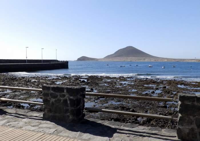 Teneriffa. Zentral gelegene Ferienwohnung mit 2 SZ in El Médano.