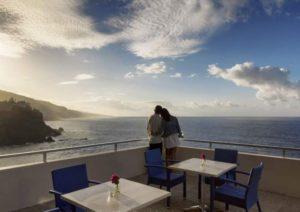 Teneriffa Penthouse auf einem Hoteldach mit wundervollem Blick
