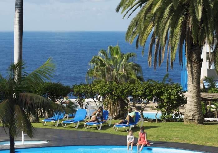 Teneriffa - Privates Studio mit Balkon und Poolzugang im Maritim - Puerto Cruz
