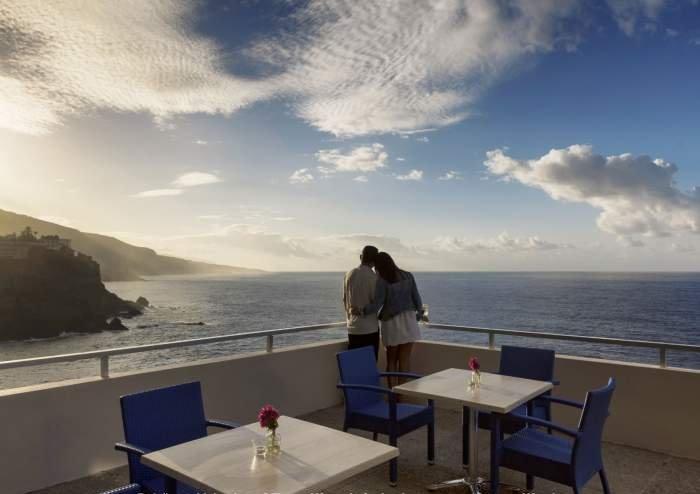 Teneriffa Ferienwohnung. Penthouse auf einem Hoteldach mit wundervollem Blick