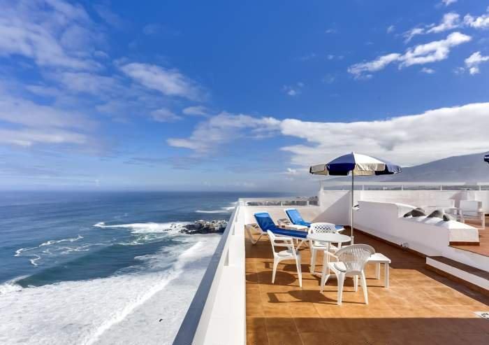 Teneriffa Ferienwohnung Atico in Puerto de la Cruz mit fantastischem Blick und großer Terrasse