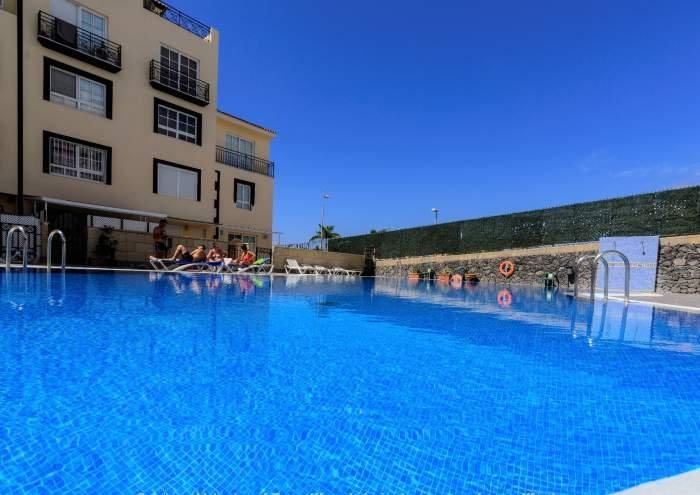 Teneriffa Ferienwohnung mit Meerblick und Poolbereich in Callao Salvaje