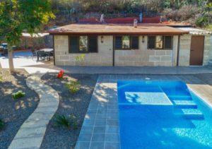 Teneriffa Gemütliches Ferienhaus mit Privatpool auf einer Finca bei Candelaria