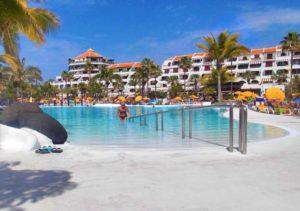 Teneriffa Ferienwohnung im Parque Santiago IV mit Gemeinschaftspools am Strand