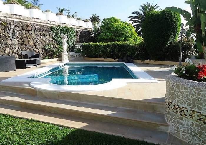 Teneriffa Schönes Ferienhaus mit Privatpool und Garten in Santa Ursula