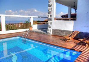Teneriffa Ferienhaus mit Garten, Terrasse, Pool und Grill in Puerto de la Cruz