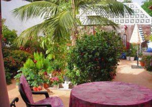 Teneriffa Ferien-Apartment in La Orotava mit Meerblick, Dachterrasse und Garten
