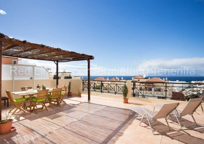 Teneriffa Ferienwohnung | Penthouse mit drei Schlafzimmern, Pool und Terrasse in Callao Salvaje