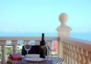 Teneriffa. Ruhig gelegene Ferienwohnung mit Balkon in Adeje