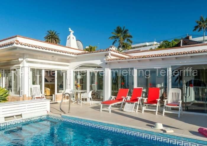 Teneriffa - Schöne, luxuriöse Villa mit Privatpool und fantastischem Blick in Santa Ursula.