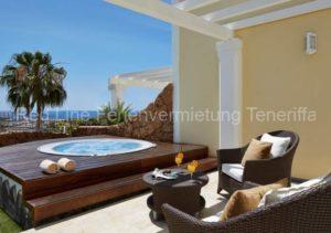 Teneriffa; Luxuriöses Ferienhaus mit Jacuzzi im 5 Sterne Resort Hotel Villa Maria Suites