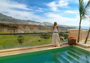 Luxusvilla Imperial, Golf Costa Adeje mit privatem Pool & Klimaanlage