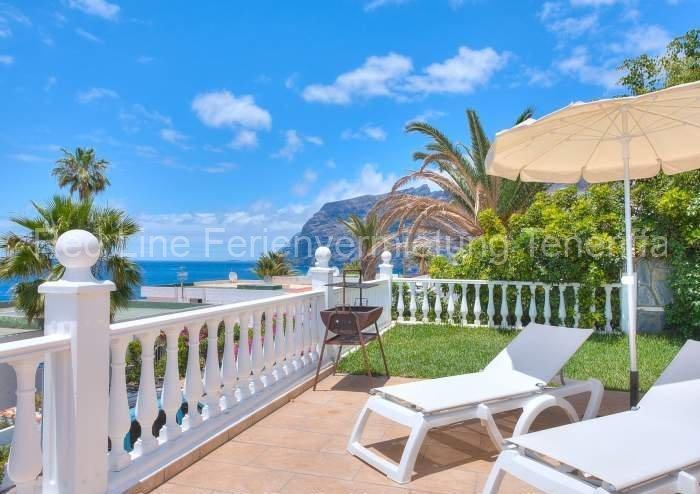 Teneriffa Luxus-Ferienhaus. Villa mit Privatpool, traumhaftem Blick und Sonnenterrasse im Süden