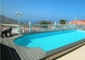 Teneriffa Luxus-Ferienwohnung in ruhiger Villengegend in Chayofa mit Pool und Terrasse