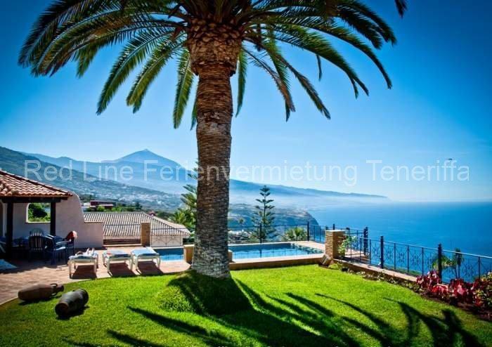 Teneriffa - Luxus-Ferienhaus | Traumvilla im Norden mit beheiztem Pool und Kamin