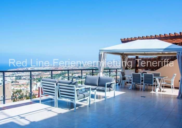 Teneriffa -Ferienhaus mit Pool und großer Terrasse an der Costa Adeje