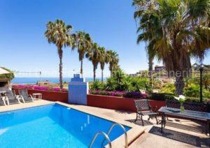Teneriffa - Ferienhaus in rustikalem Stil auf Finca in Buen Paso mit Pool
