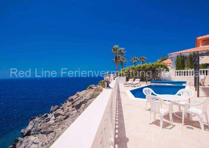 Teneriffa - Luxus-Ferienhaus | Villa mit Privatpool und Meerblick in Callao Salvaje