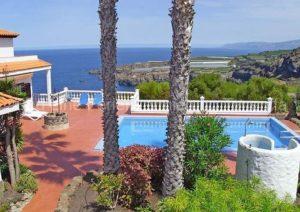 Teneriffa Ferienhaus in Traumlage bei Icod de los Vinos mit Pool und Terrasse