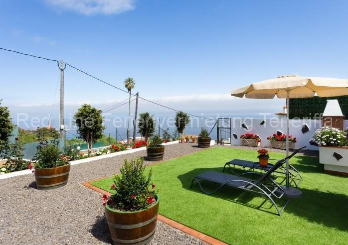 Teneriffa - Modernes Landhaus mit schönem Garten bei Garachico