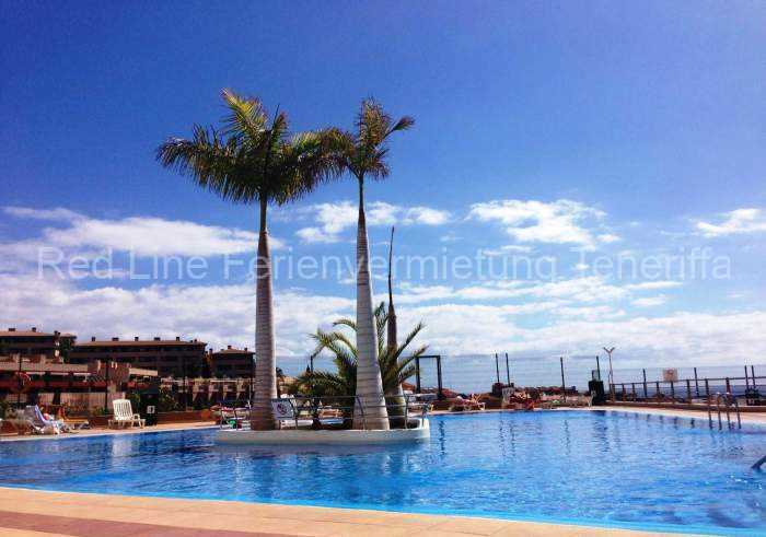 Teneriffa Ferienwohnung in direkter Meerlage mit Poolbereich in Playa Paraiso