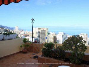 Teneriffa Ferienwohnung. Ferienwohnung in la Paz mit Meerblick für zwei Personen