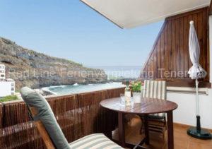 Teneriffa Ferienwohnung. Ferienwohnung mit Meerblick für 4 Personen in Playa San Marcos.