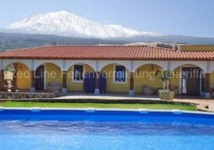 Teneriffa Traumhaftes Luxushaus bei Icod de los Vinos mit Pool und Garten